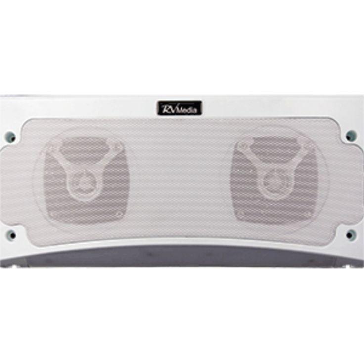 King Outdoor Bluetooth Speaker & Awning Light - White