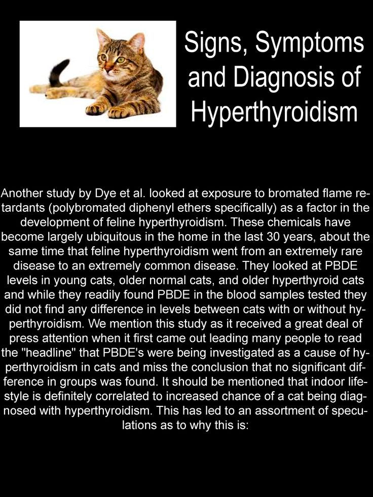Signs, Symptoms and Diagnosis of Hyperthyroidism