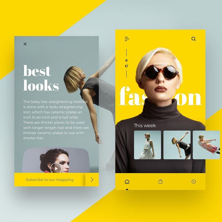 "1,463 Likes, 8 Comments - UI UX Digital Inspiration (@uitrends) on Instagram: ""BOOM! Don't you just loove this shot?⠀ ⠀ Fashion Magazine Concept by @jasonfallas ,brilliant…"""