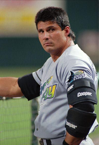 Jose Canseco:  Even your mullet looks like is was on roids!
