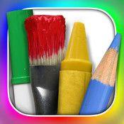 Skrivverktyg för Bilden sär. F-9 högsta betyg  Ritplatta - Målarlådan där tuschen aldrig torkar En stor, inbjudande målarlåda vars innehåll känns hyggligt komplett vad gäller färg och variation. Penslarna finns i flera storlekar och är doppade i olika färger, färgpennorna är nyvässade och på samtliga tuschpennor sitter locket kvar.