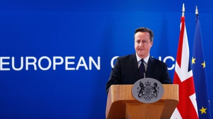 David Cameron is upbeat about the prospect of an EU reform deal in 2016 with a referendum to follow, after talks in Brussels.