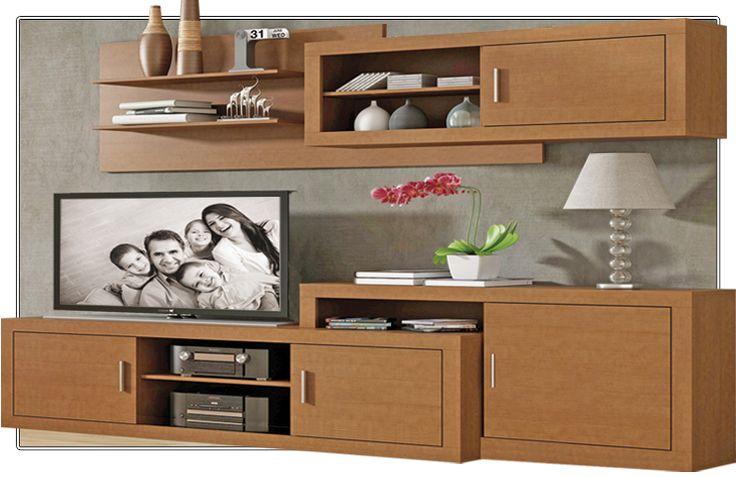 Mueble de salón moderno perfecto para crear un ambiente acogedor y agradable. Disponible en Nogal, ceniza/negro, blanco/grafito y ceniza/plata.