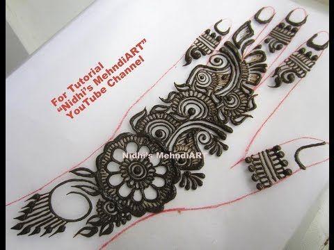 Mehndi Drawing Photos : Best mehndi designs video images henna