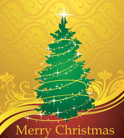 christmas templates another vector christmas card template from koocha 500x559