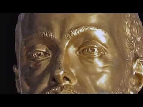 Bronce dorado en El Escorial