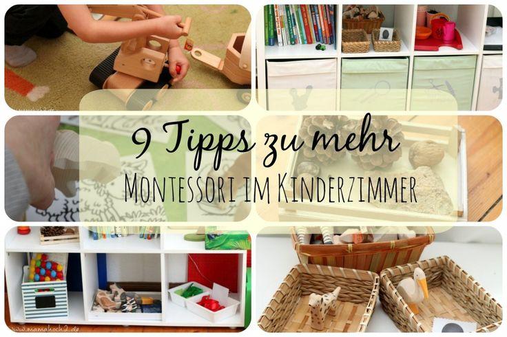 montessori im kinderzimmer