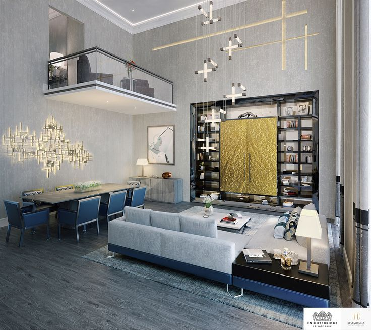 LINLEY Interior Design Has Produced Options For The Interiors Of A Series Penthouses And Apartments At Knightsbridge Private Park