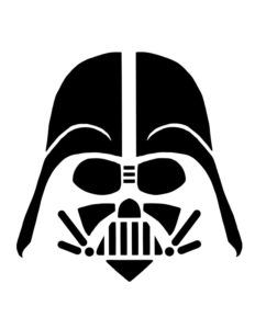 Star Wars pumpkin stencils