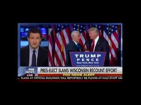 Michigan Recount Goes To Trump And Trump Slams Wisconsin Recount Effort!!