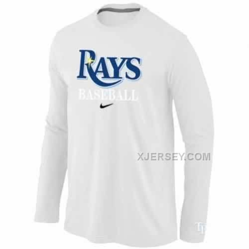 http://www.xjersey.com/tampa-bay-rays-long-sleeve-tshirt-white.html TAMPA BAY RAYS LONG SLEEVE T-SHIRT WHITE Only $30.00 , Free Shipping!