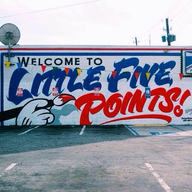 Little Five Points, Atlanta, Georgia