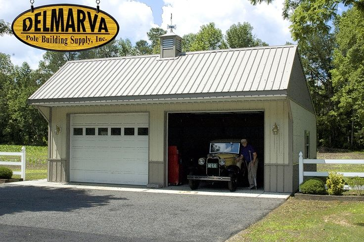 63 best images about garages on pinterest detached for Pole shop plans