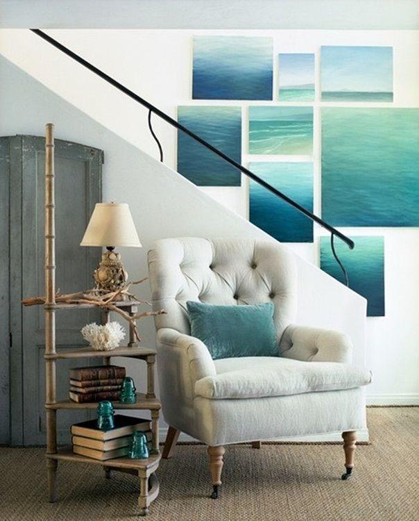 Love the photos on wall