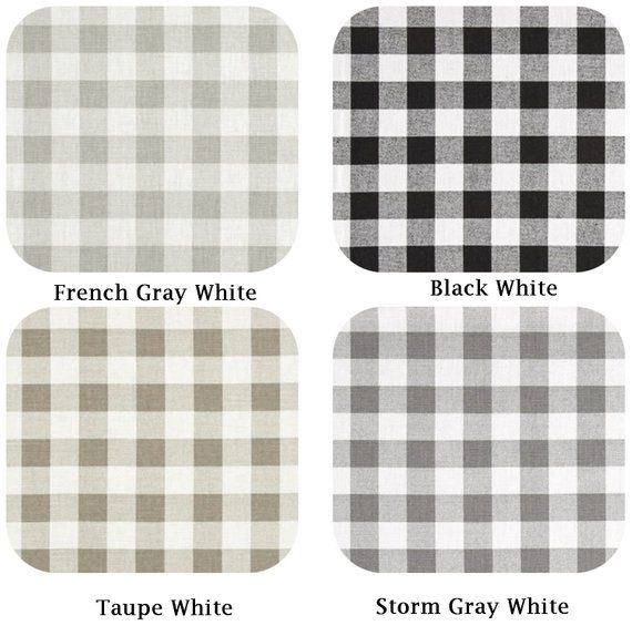 One 13 X 18 Lined Placemats Buffalo Plaid Placemats Black French Gray Taupe Gray Check Small Plaid Placem Plastic Bag Holders Recycled Plastic Bags Bag Holder