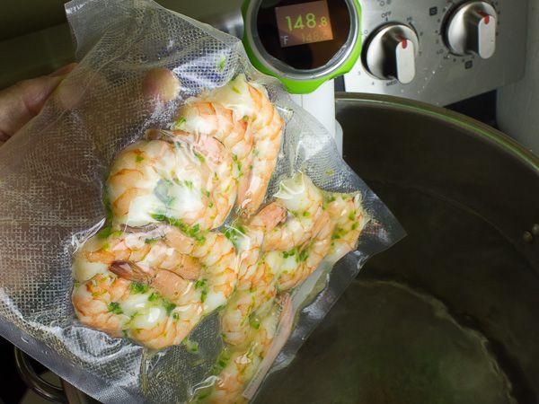 Sous vide shrimp | The Black Peppercorn #nomiku #sousvide