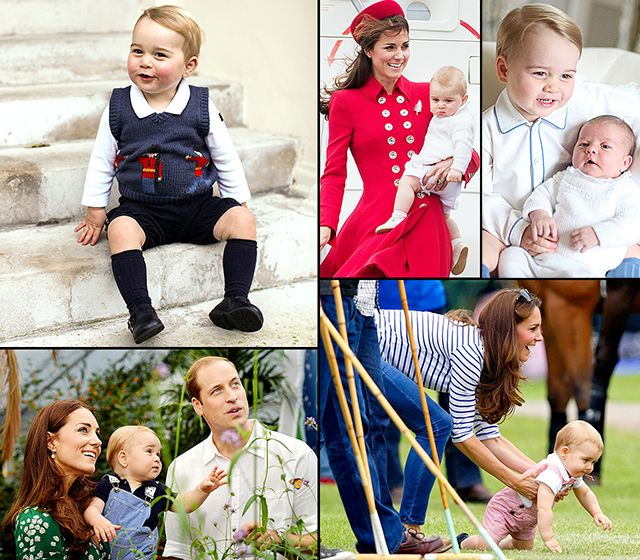 Prince George's Baby Album: Kate Middleton and Prince William's Firstborn Son - Us Weekly