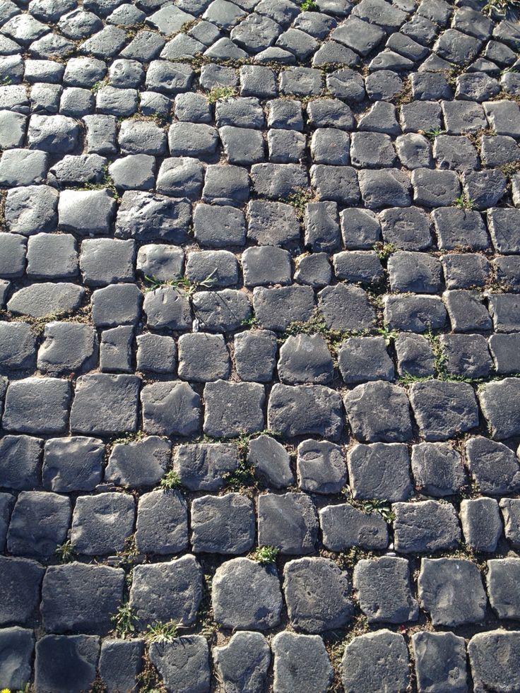 Sanpietrini in Rome Roman's Ground