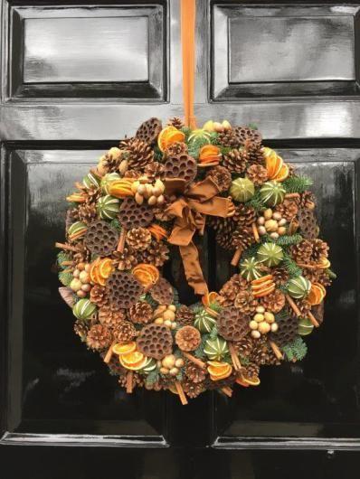 Christmas   Rob Van Helden Floral Design   Wreath  