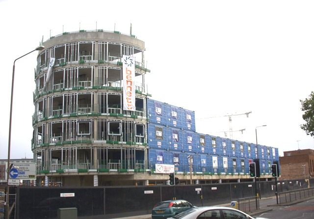 Modular Construction in Woolwich | Royal Arsenal Hotel constructed by Bennett Construction Ltd (hotel room and bath modules manufactured in China)