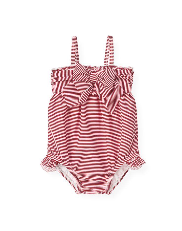Stripe Baby Swimsuit