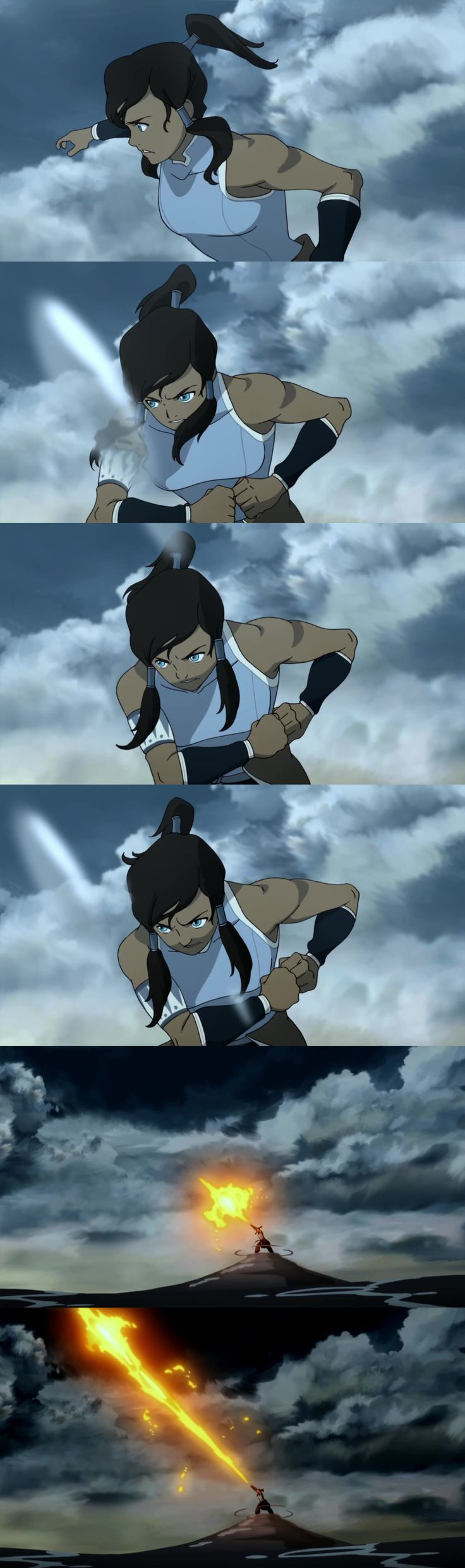 Korra Kamehameha. I can't be the only one who thought this..