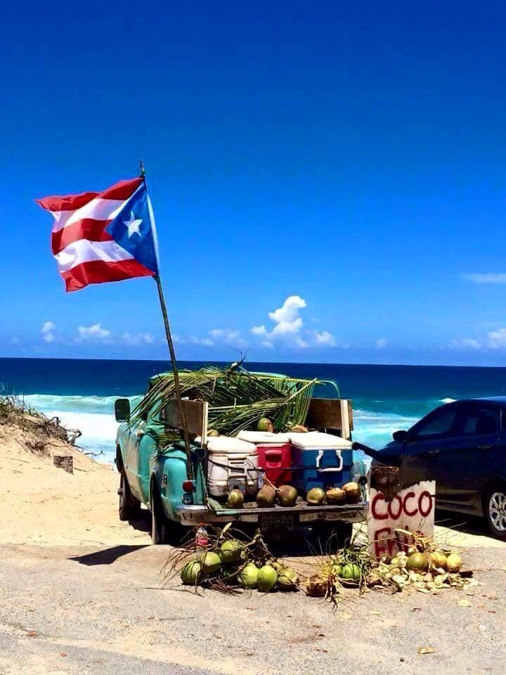 Puerto Rican Refreshments At The Beach