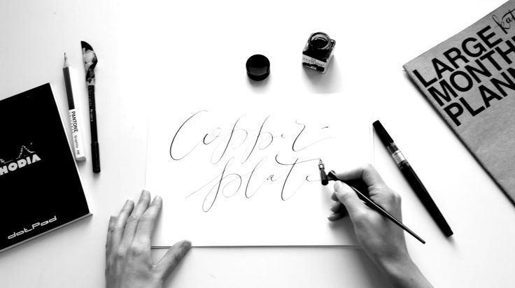"""Check out my @Behance project: """"Copperplate 