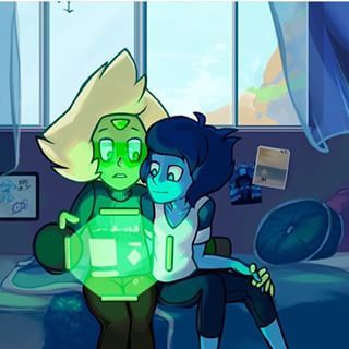 Peridot and Lapis SU (Steven Universe)