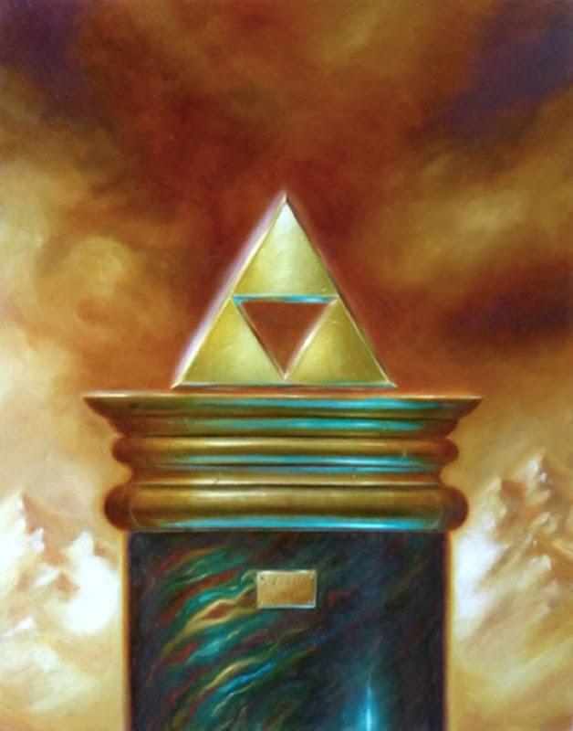 The Triforce Crome Legend of Zelda