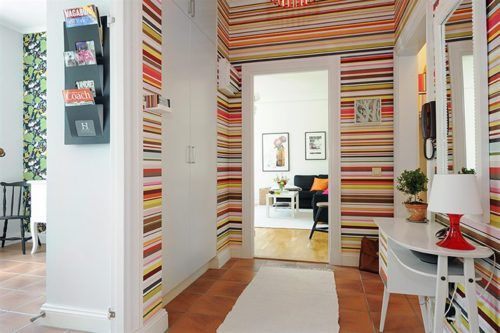a colorful twist on the b stripes.