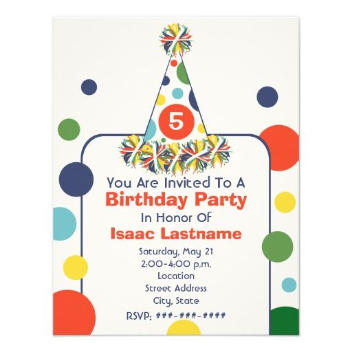 Best 398 Polka Dot Birthday Party Invitations images – Party Invitation Sites