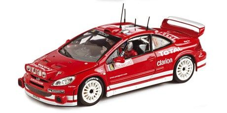 Peugeot 307 WRC - F.Loix/S.Smeets - Track and rally cars - Racing cars - Die-cast   Hobbyland Scale model car made of metal /Die-cast/ in 1:43 scale manufactured by Vitesse.  It is just a small version of a real car suitable for collectors. Handmade.  Composition: metal and plastic