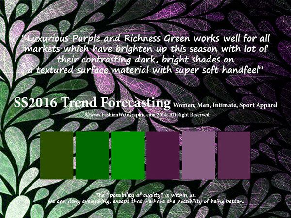 SS2016 trend forecasting by Judith Ng, via Behance
