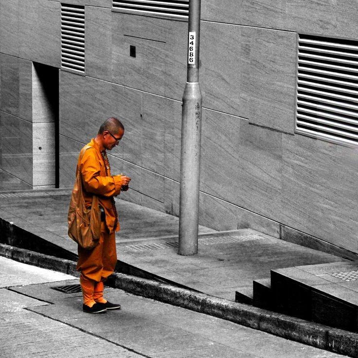 """""""Street Monk"""" Shot in Hong Kong by Beren Davis"""