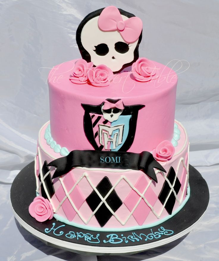 Monster High cake decoration