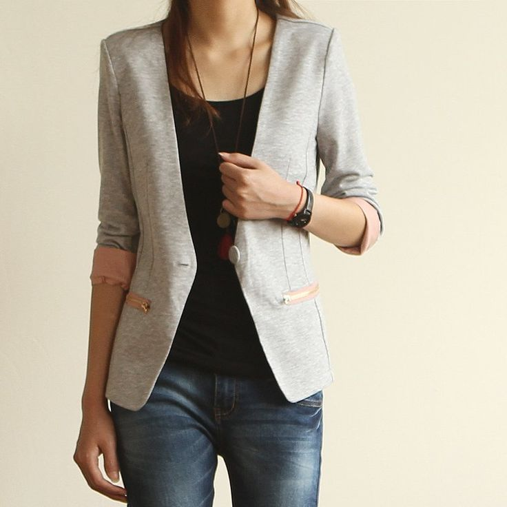 Women casual jacket