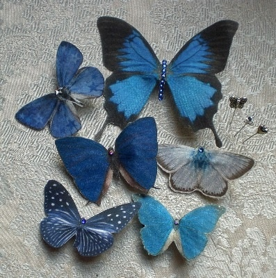 18 Best Butterfly Hair Accessories Images On Pinterest