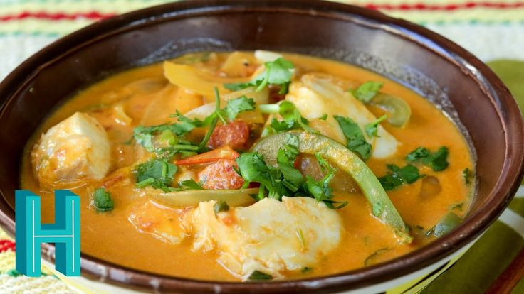 Moqueca is a super simple Brazilian seafood stew made with fish or shellfish, coconut milk, vegetables and dende oil. Dinner is ready in 20 minutes!