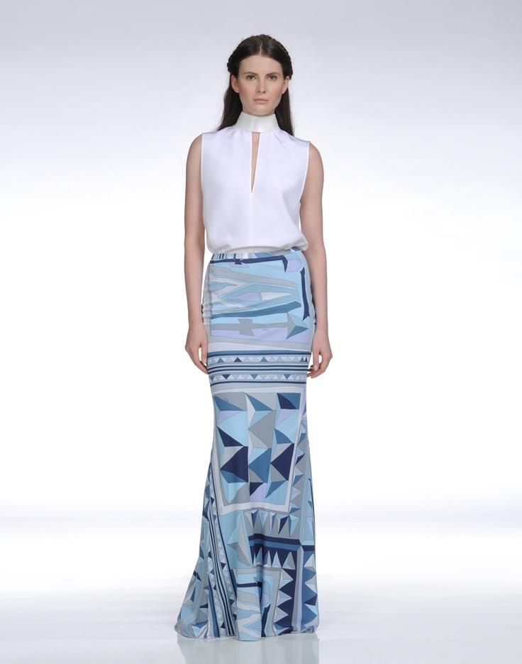 EMILIO PUCCI Long Skirt (955€)