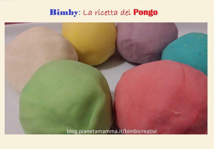 Il Pongo fatto in casa con il Bimby! - Thermomix PlayDough Recipe!