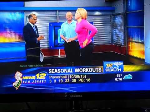 ▶ KM Fitness Dr. DeSilva News12 to your Health Interview with Michael and Susan Keenan - YouTube