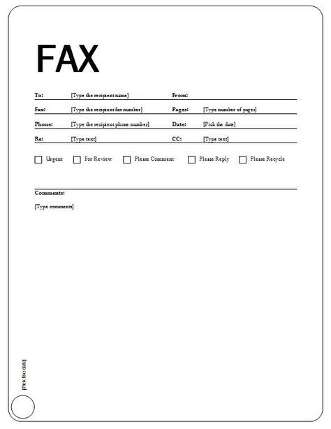 Free Printable Fax Cover Sheets | Standard Fax Cover Sheet with Equity Theme
