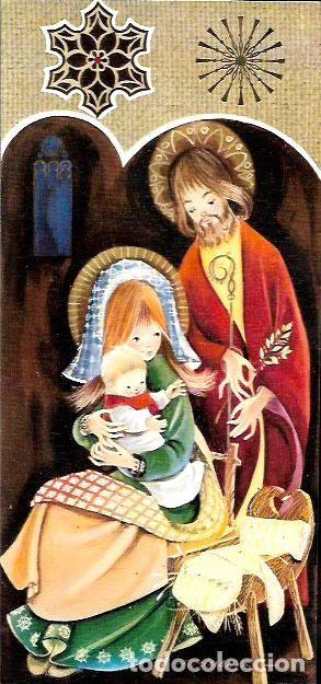 FELICITACION NAVIDAD FUSIMANYA * MARIA JOSE Y EL NIÑO * - Foto 1