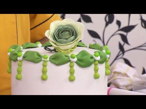 Como elaborar drapeados circulares - Hogar Tv por Juan Gonzalo Angel - YouTube