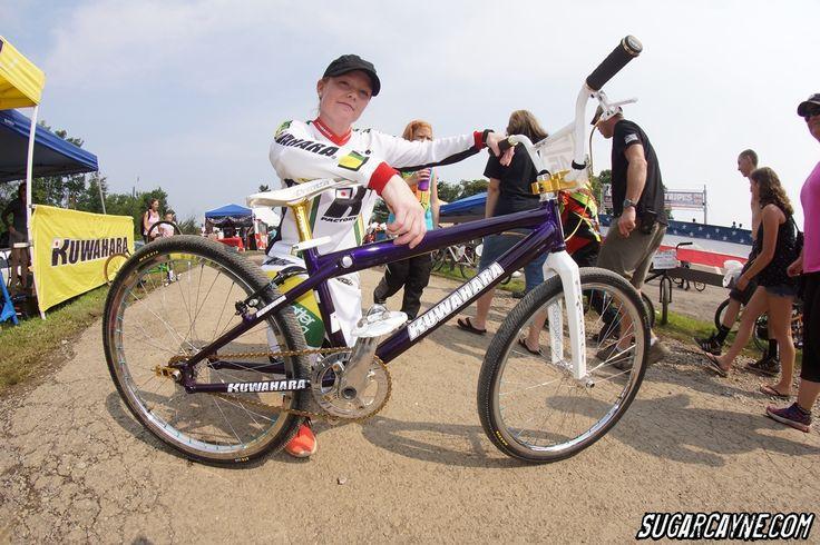 Laura Hutchinson, Kuwahara Lachesis Pro 24 Bike Check - http://www.sugarcayne.com/2015/07/laura-hutchinson-kuwahara-lachesis/