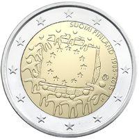 2 euron erikoisraha: EU-lippu