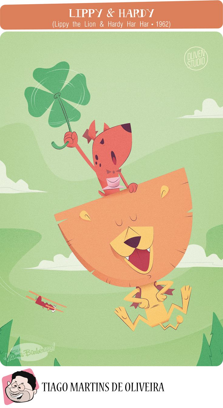 Isso é Hanna-Barbérico!: Lippy & Hardy (Lippy the Lion & Hardy Har Har - 19...