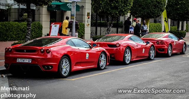 #Ferrari #Convoy #Cape_Town