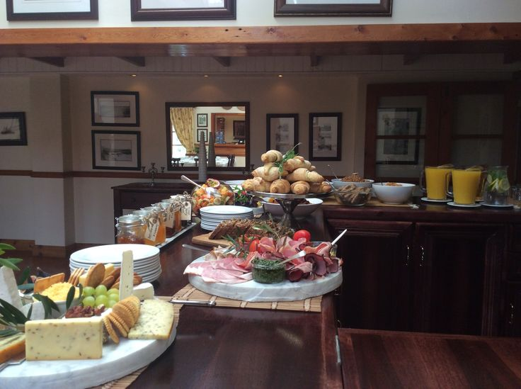 Delicious breakfast buffet at Dune Ridge Country House #StFrancisBay #Eastern Cape #SouthAfrica www.duneridgestfrancis.co.za